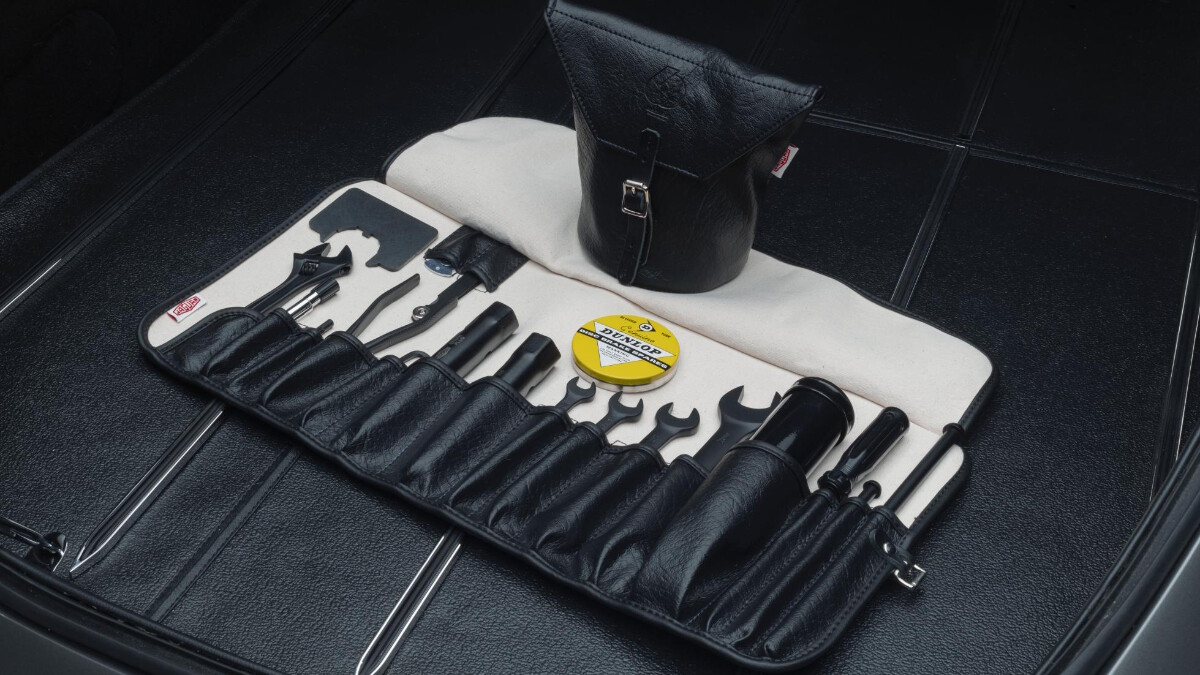 The Jaguar E-Type Tools in the Trunk