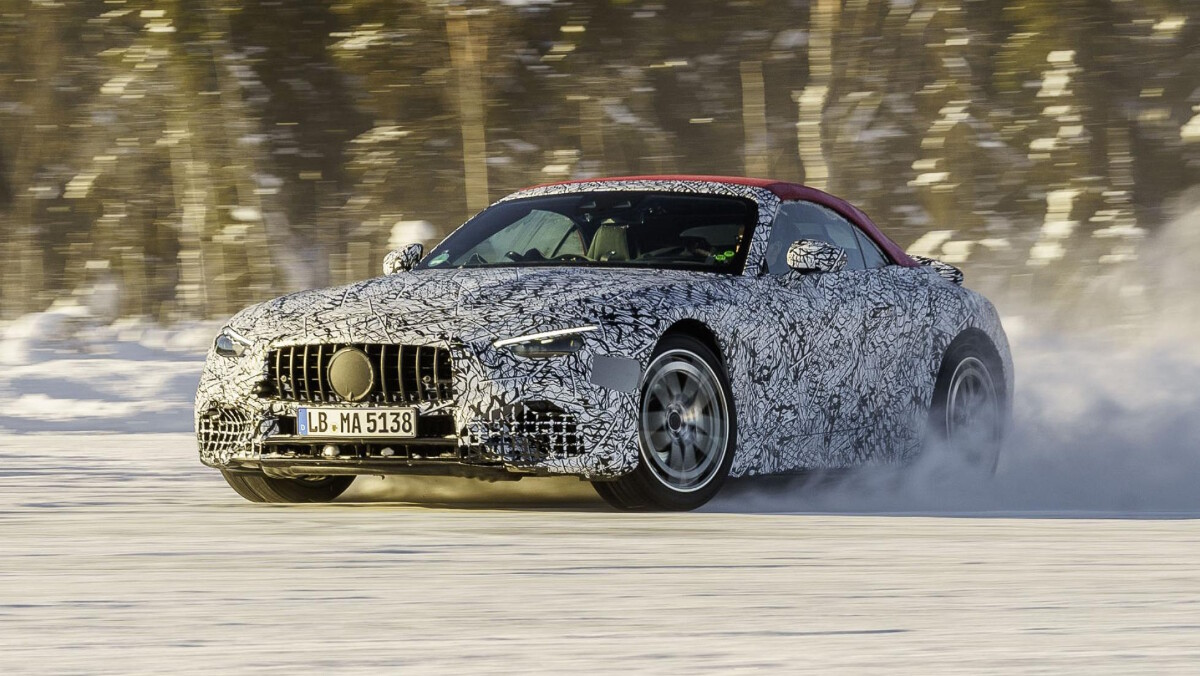 The Mercedes-AMG SL in Action