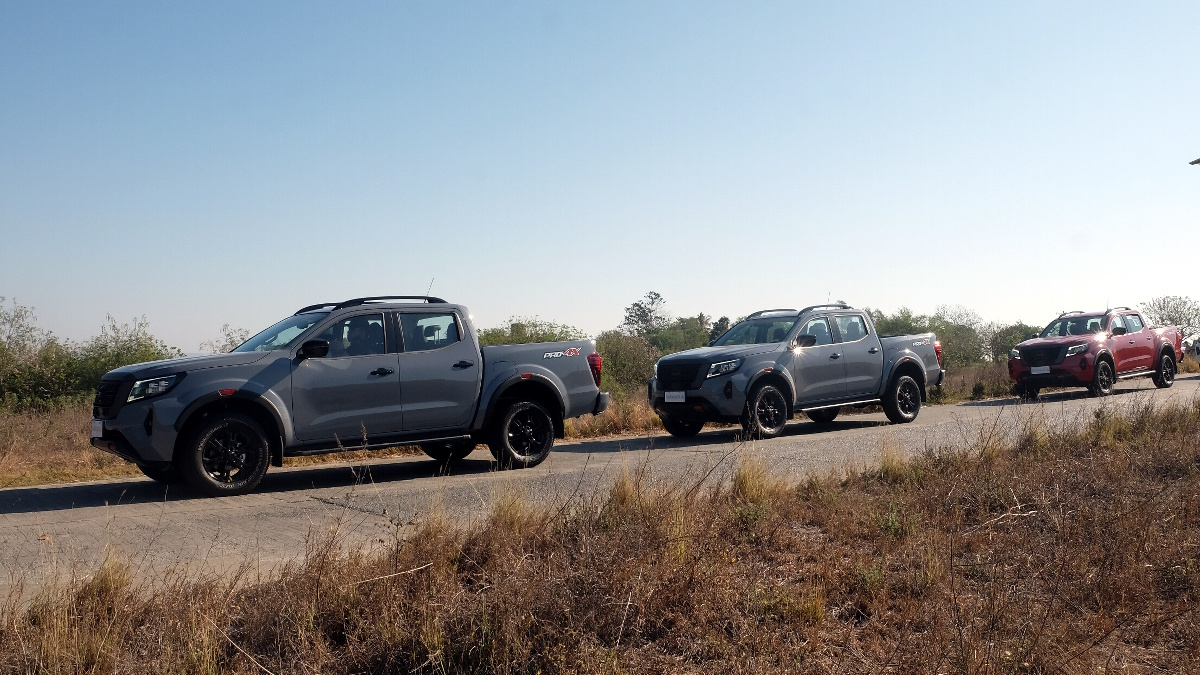 The 2021 Nissan Navara in Different Colors