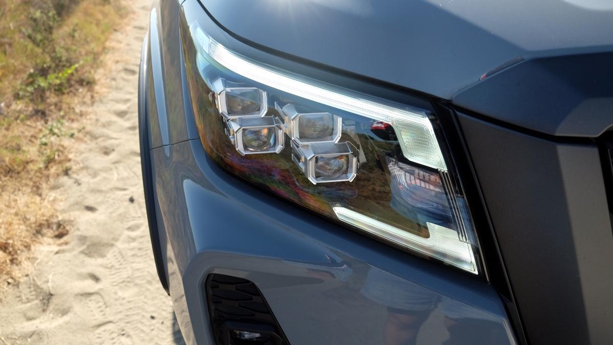 The 2021 Nissan Navara Right Head Lamp