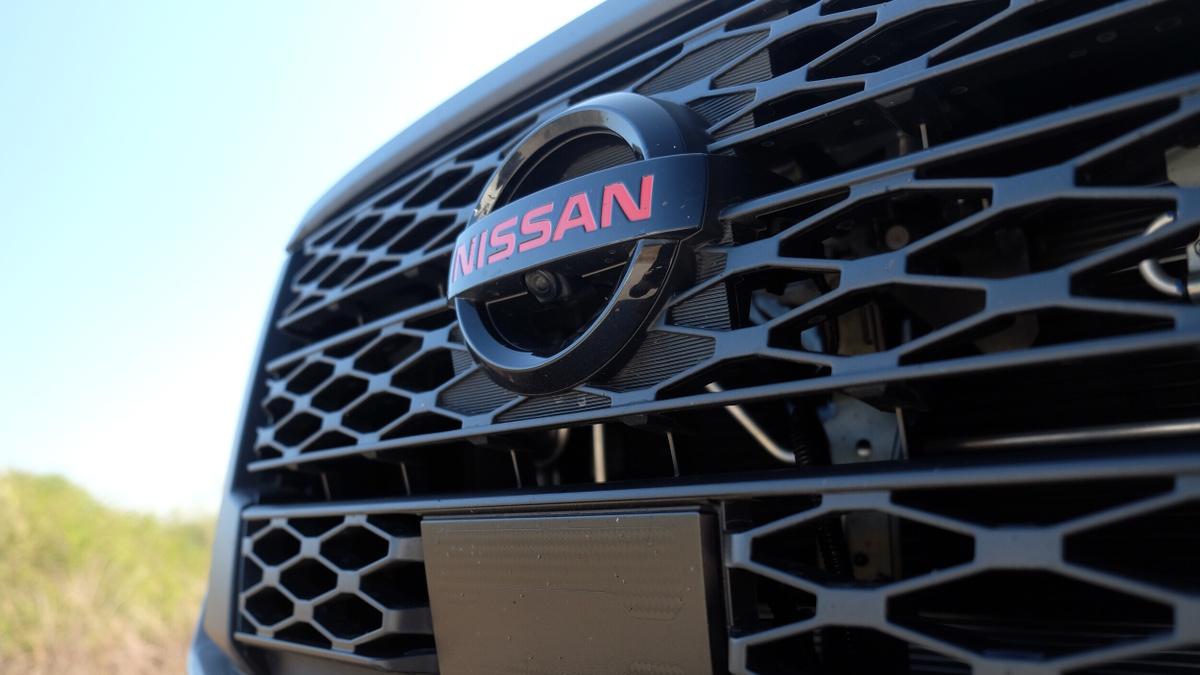 The 2021 Nissan Navara Grille