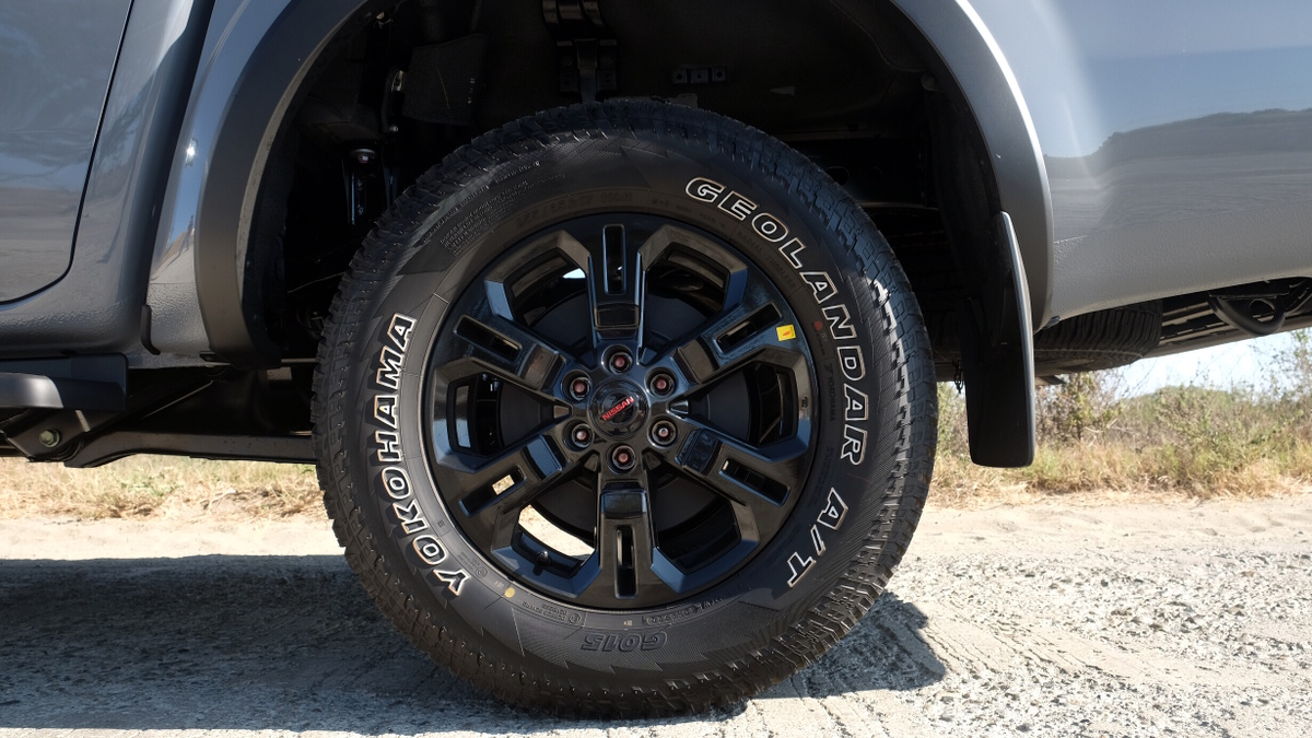 The Nissan Navara Pro-4X Rear Tires