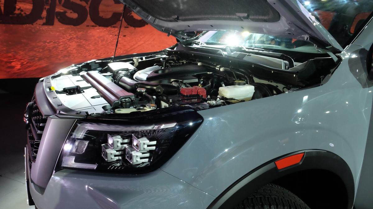 The 2021 Nissan Navara Engine