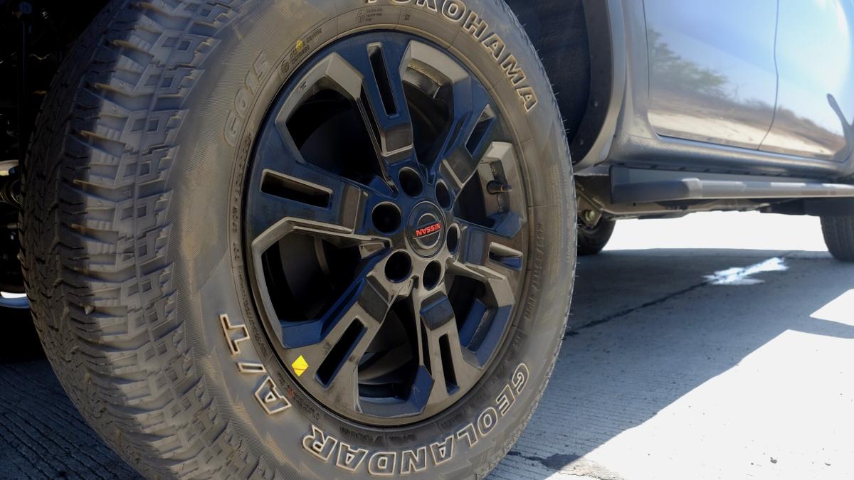 The 2021 Nissan Navara Front Tire