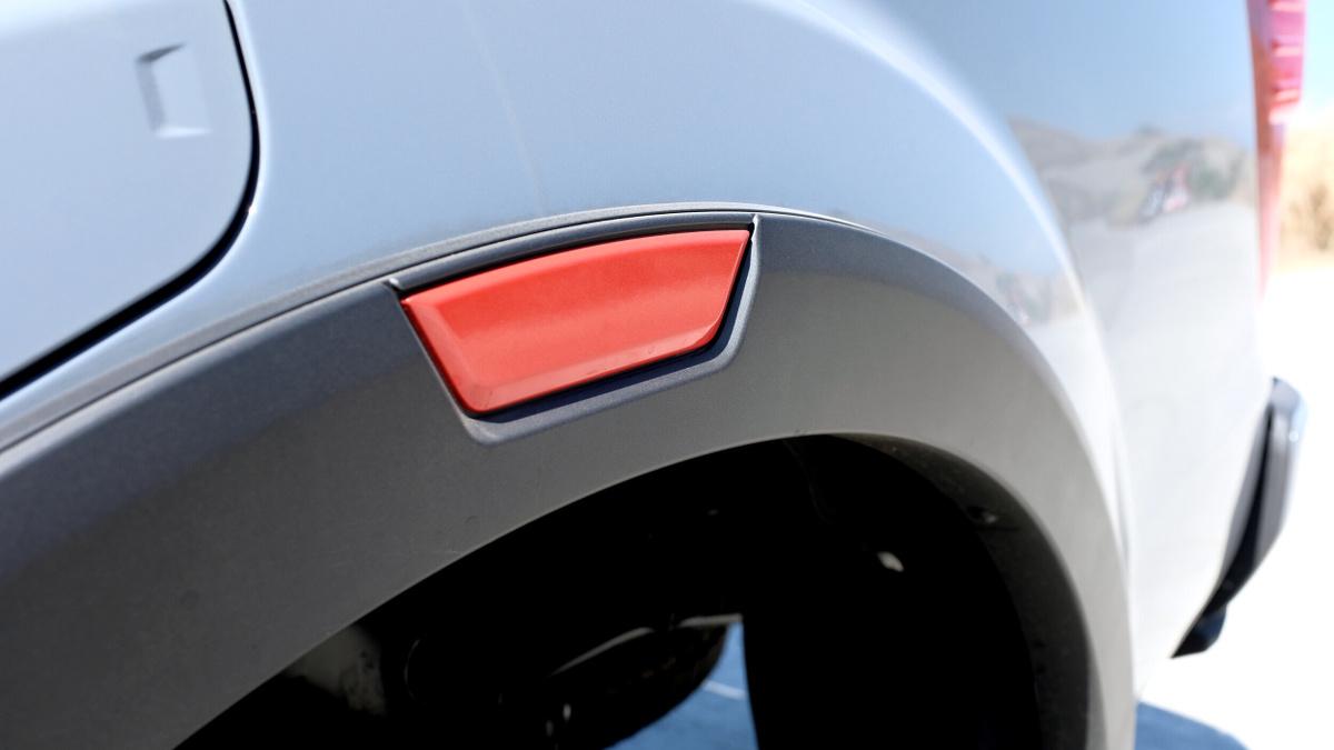 The 2021 Nissan Navara Tire Reflectors