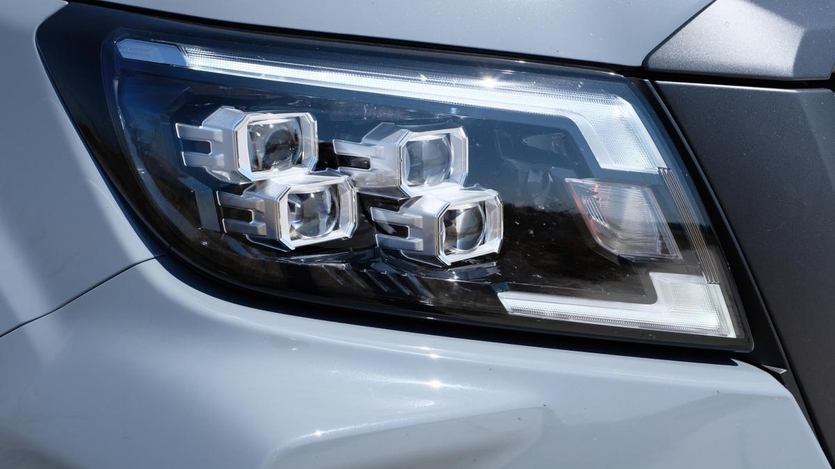 The Nissan Navara Pro-4X Head Lamp