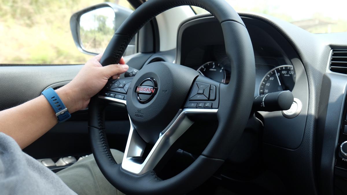 The Nissan Navara Pro-4X Steering Wheel
