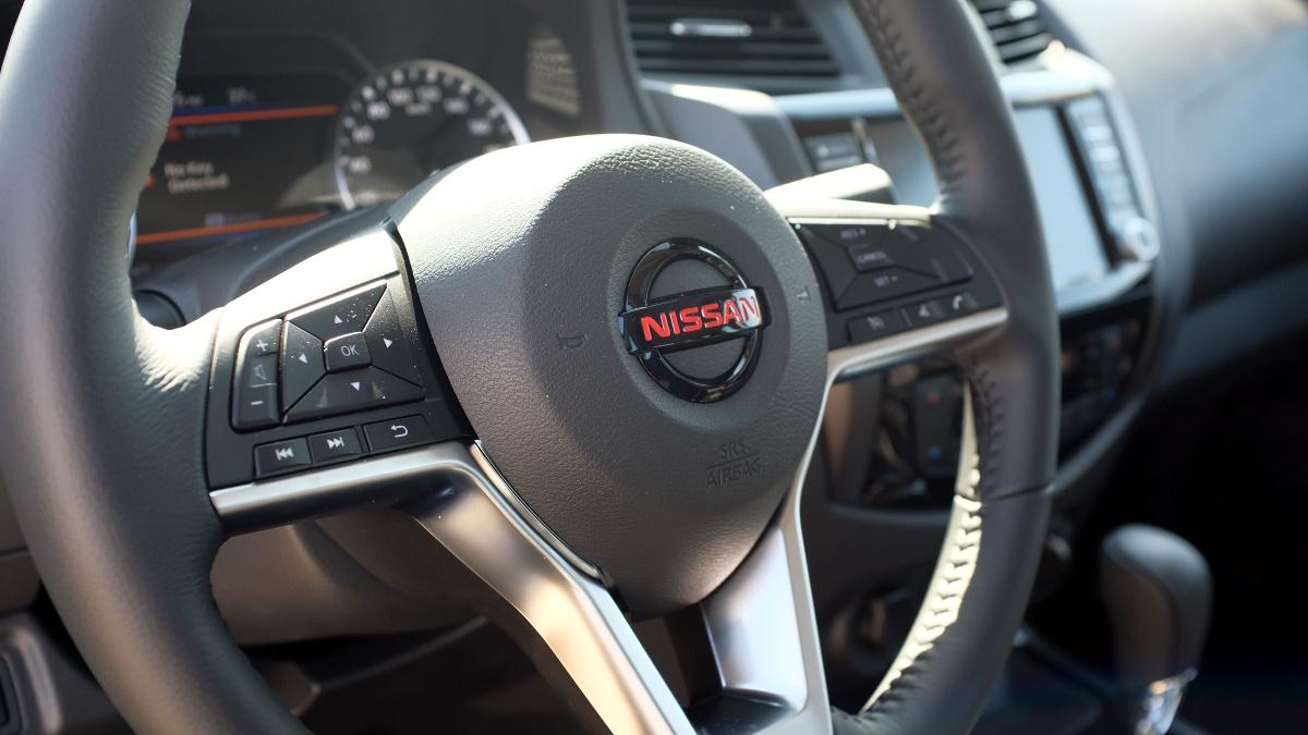 The 2021 Nissan Navara Steering Wheel