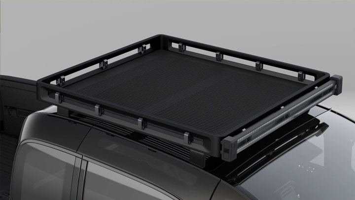 The Canoo Electric Pickup Concept Top Cargo Bed