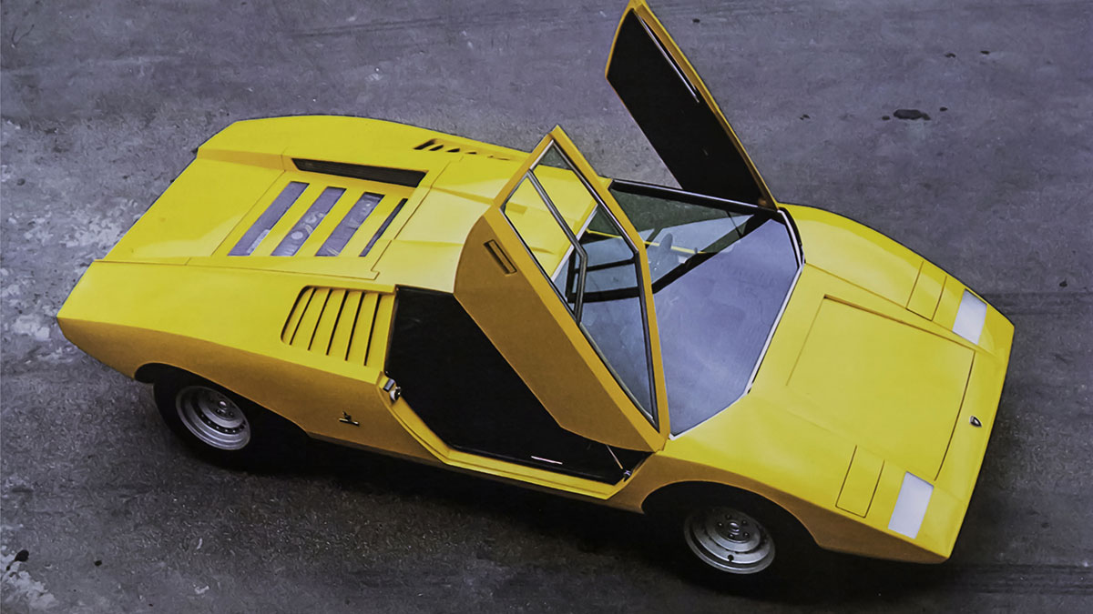 The Lamborghini Countach LP500 celebrates its 50th birthday - Top Gear Philippines