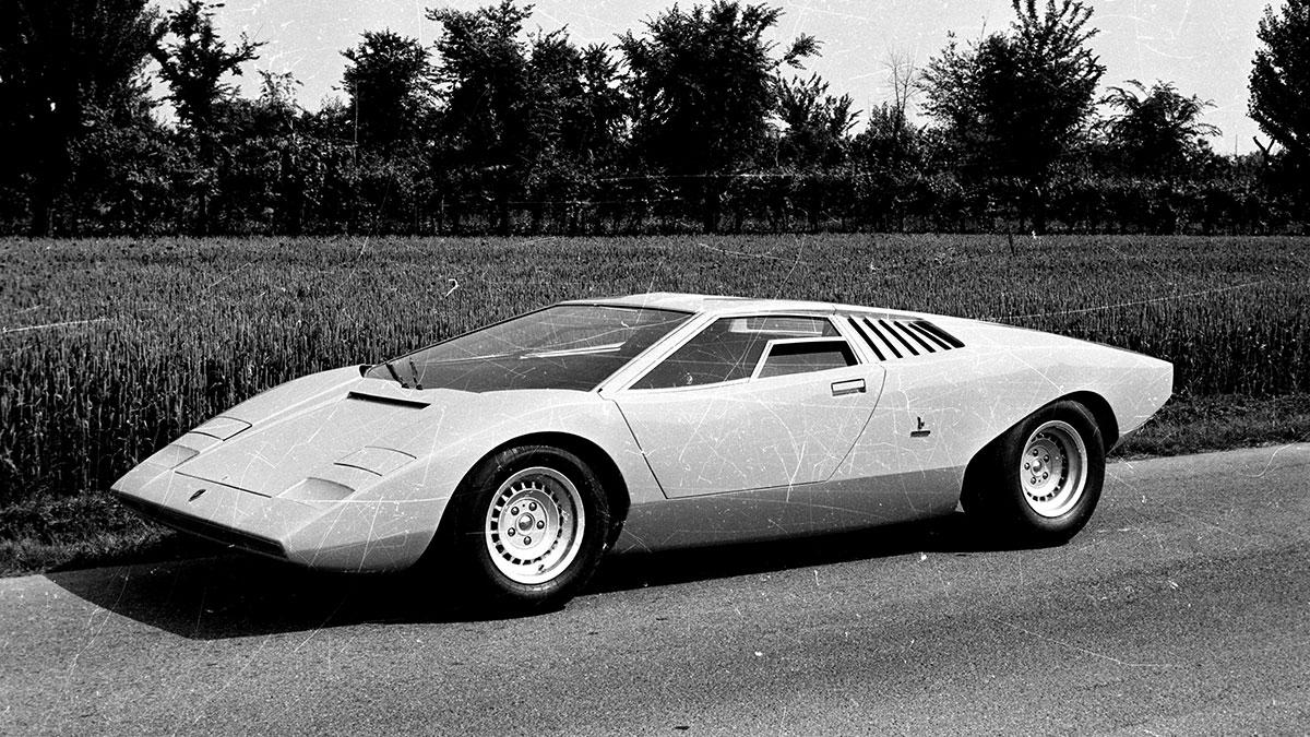 The Lamborghini Countach LP500