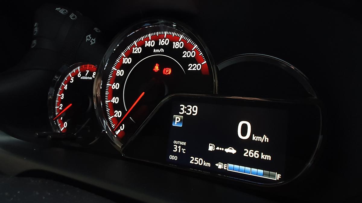 The Toyota Vios GR-S Odometer