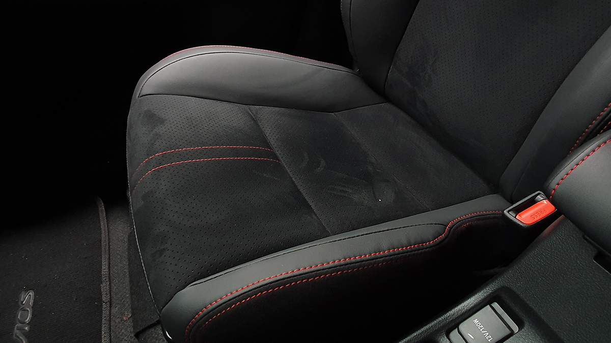 The Toyota Vios GR-S Front Passenger Seat