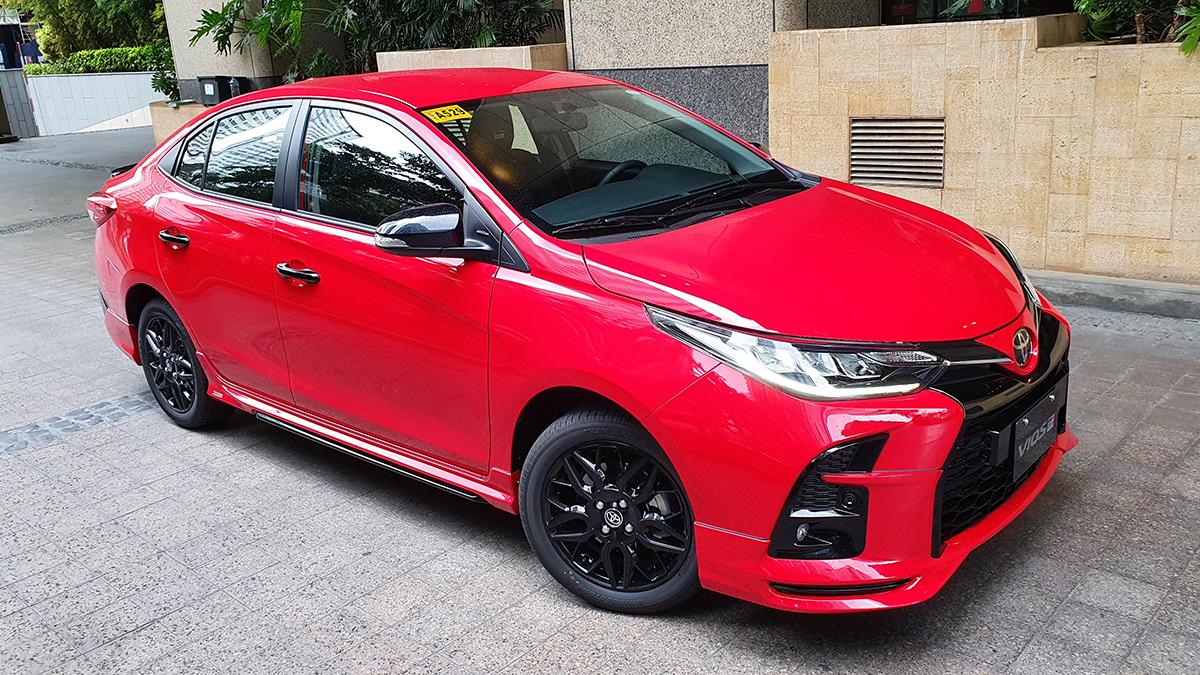 The Toyota Vios GR-S Alternative Angle