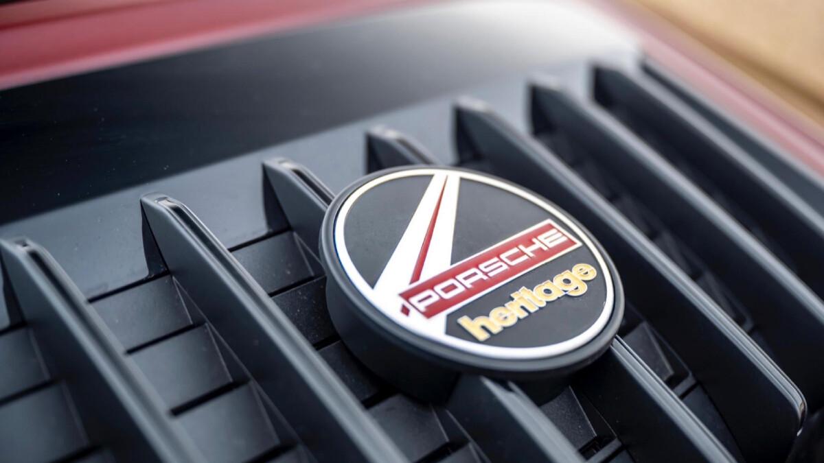 The Porsche 911 Targa 4S Heritage Emblem