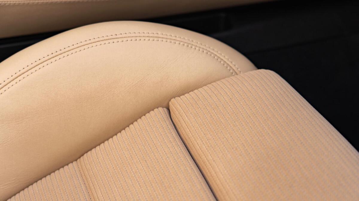 The Porsche 911 Targa 4S  Upholstery Detail