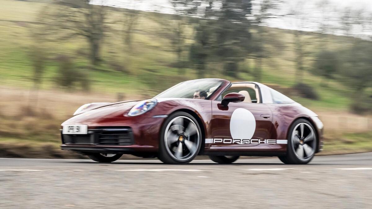 The Porsche 911 Targa 4S Alternative Angle