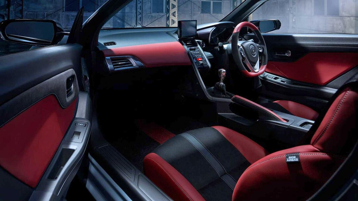 The Honda S660 Interior