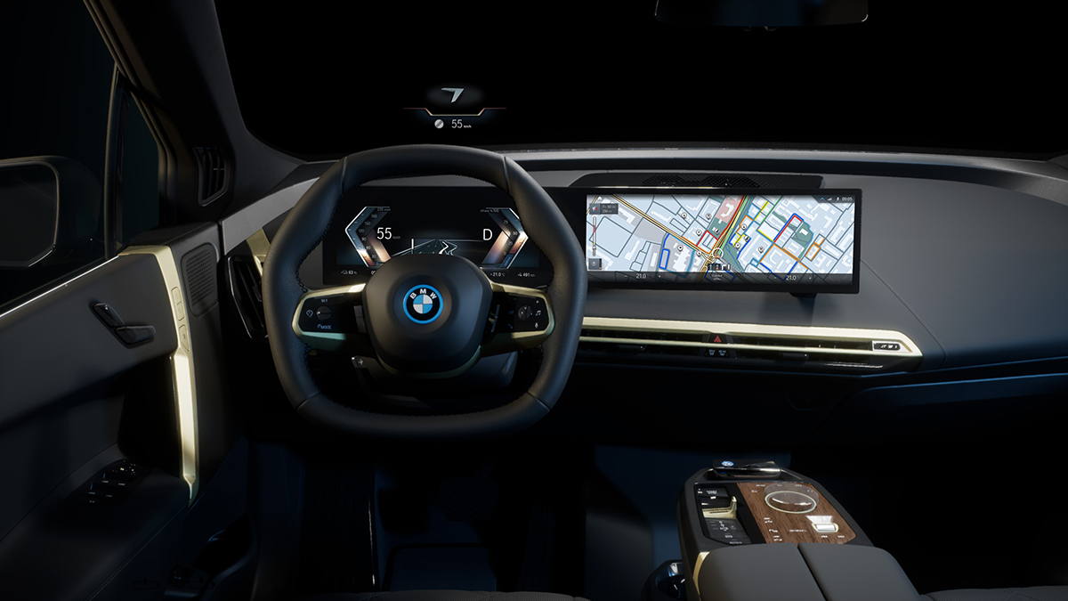 The New BMW iDrive System