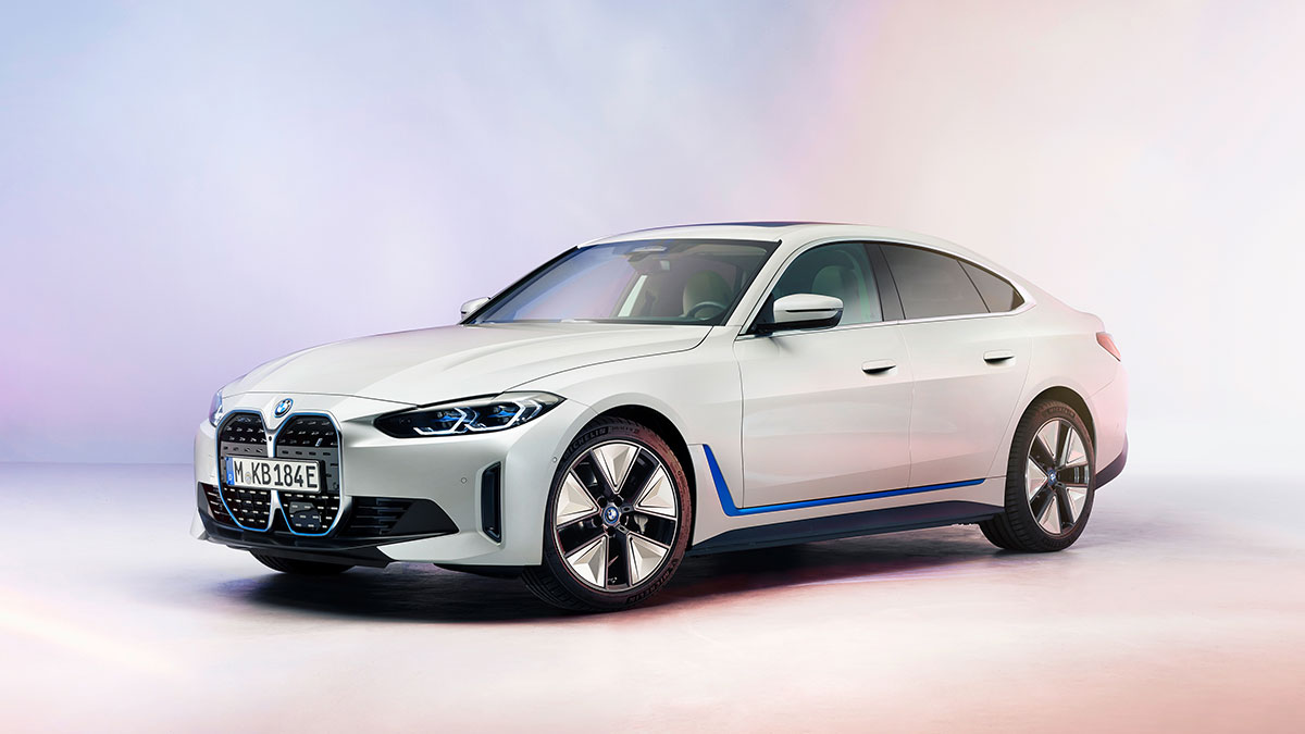 The 2022 BMW i4 Gran Coupe Feature