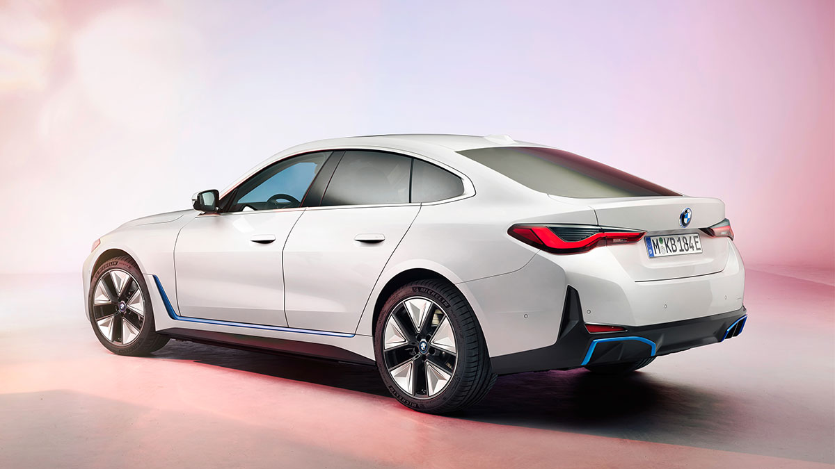 The 2022 BMW i4 Gran Coupe