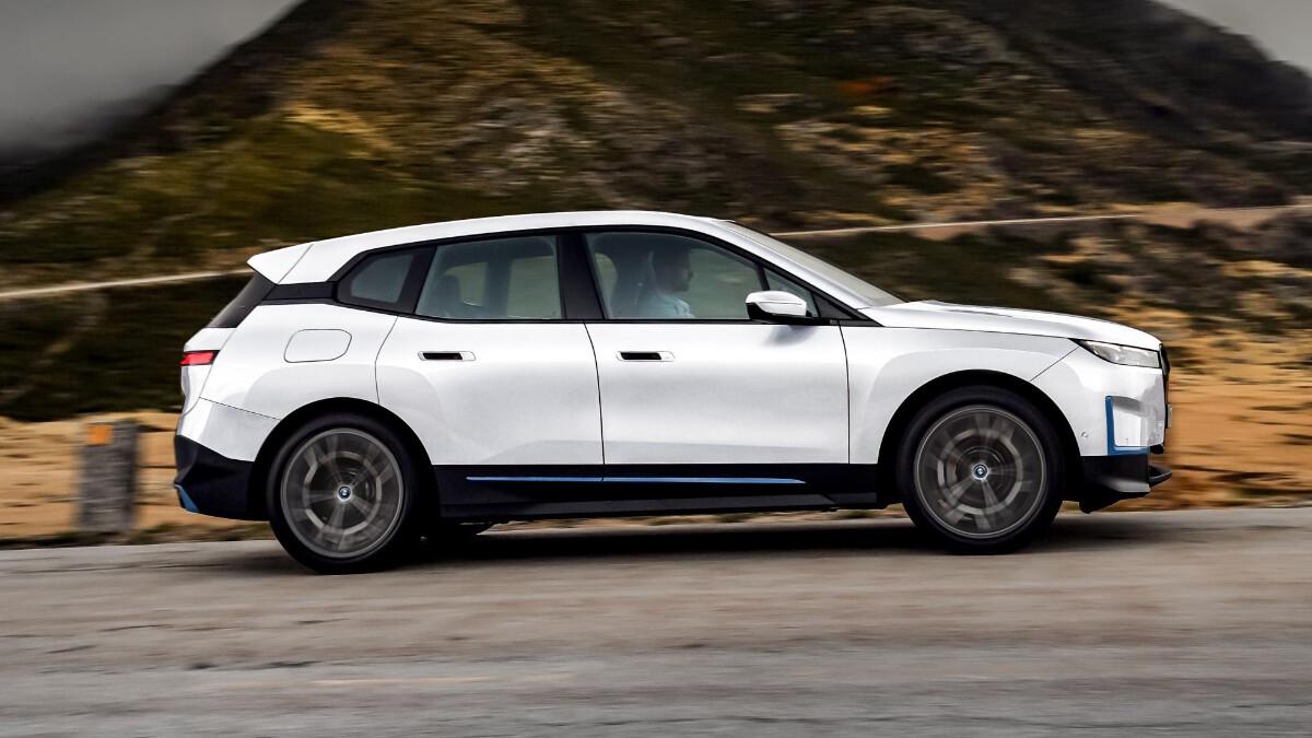 The BMW iX Profile