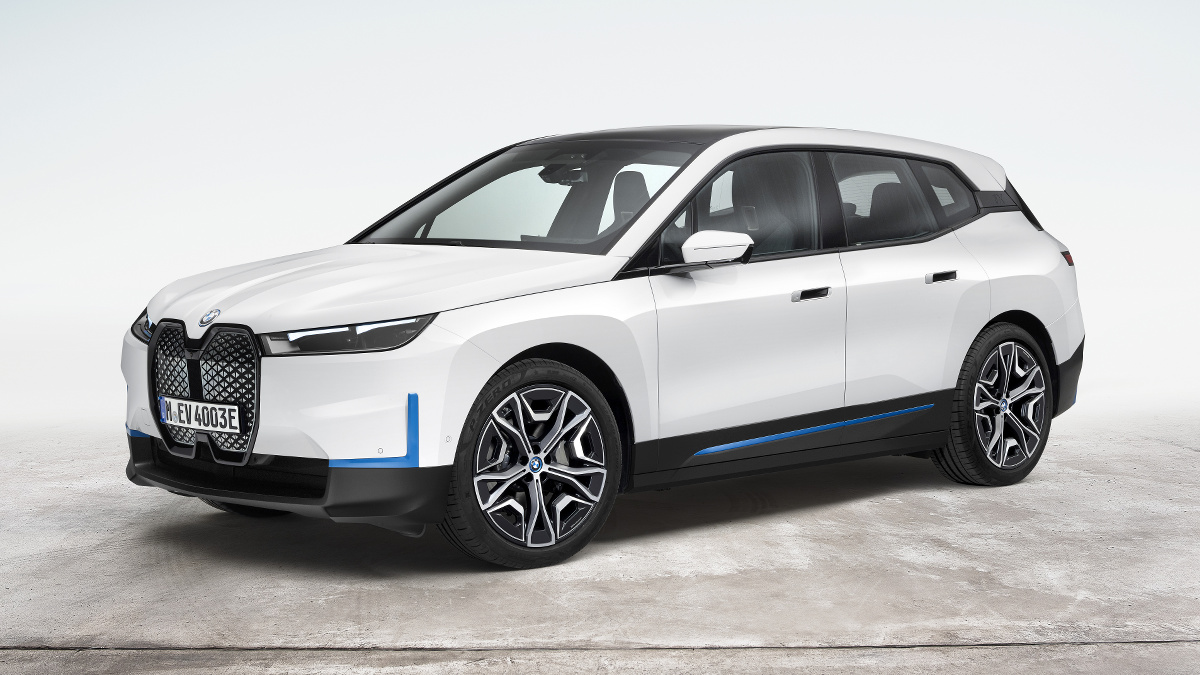 The BMW iX Electric Crossover