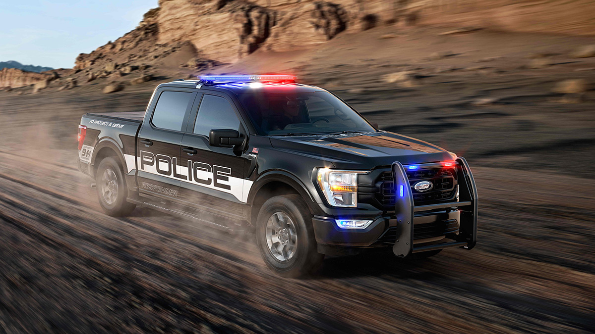 The Ford F-150 Police Responder