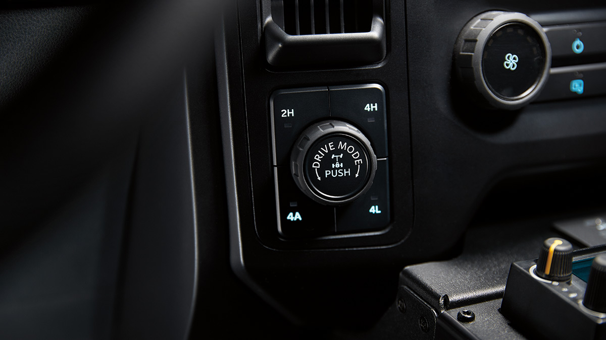 Ford F-150 Police Responder Drive Controls