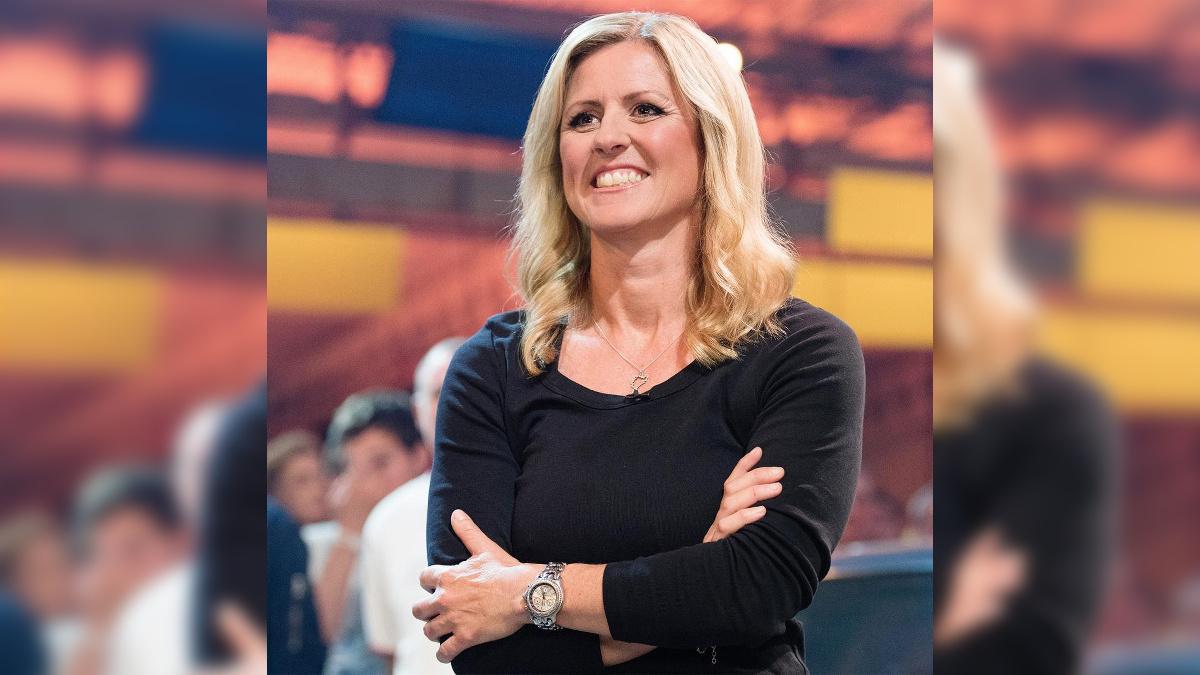 Sabine Schmitz in a Top Gear Episode