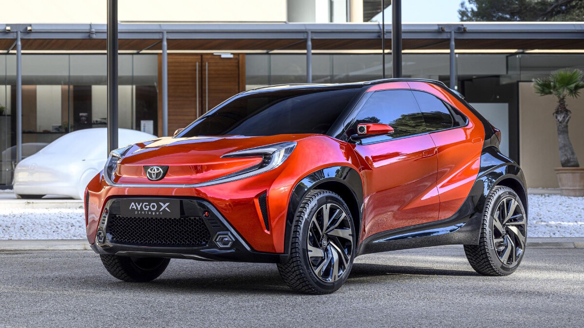 The Toyota Aygo X Alternative Front View