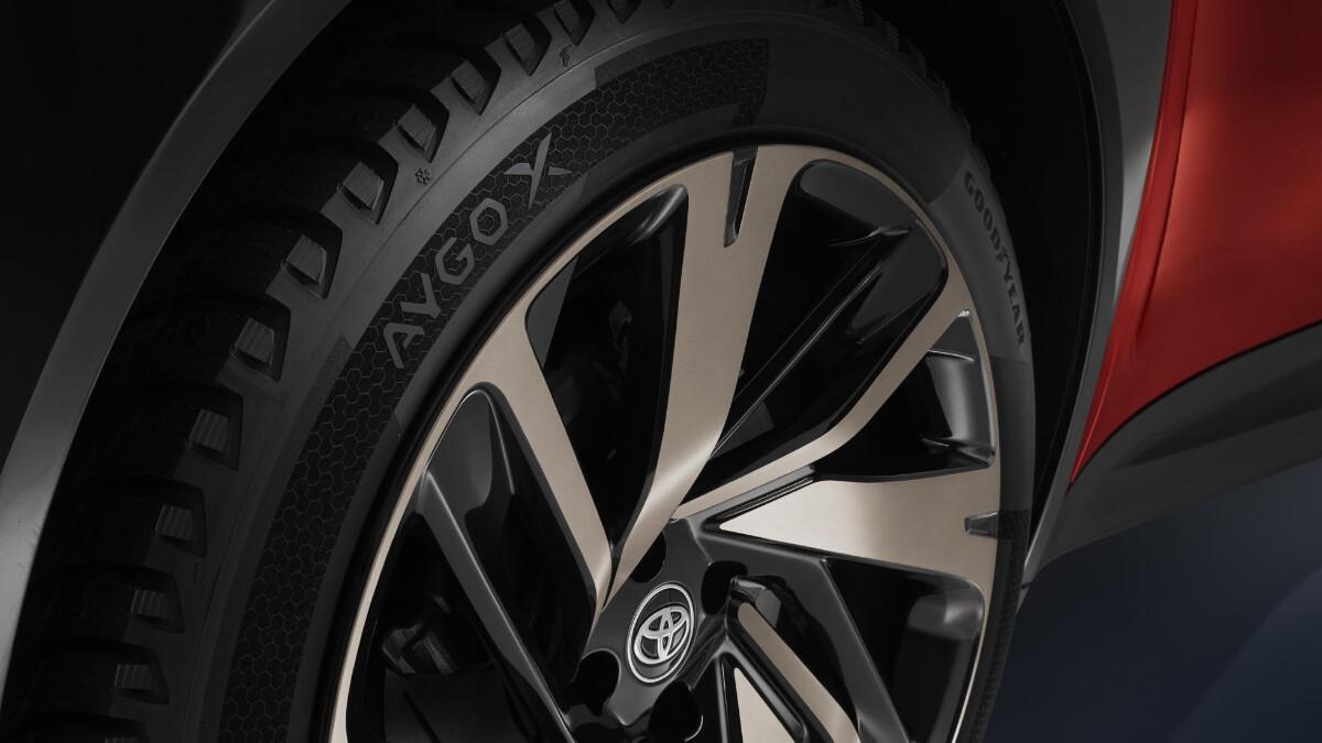 The Toyota Aygo X Rim Detail