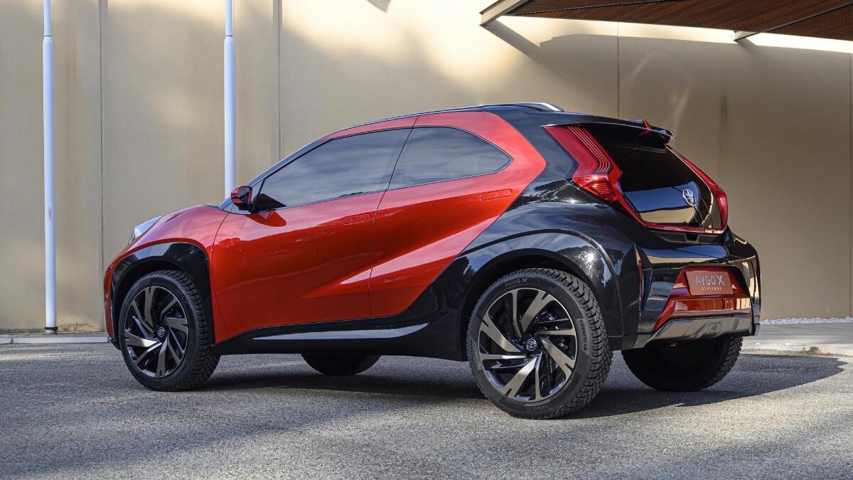 The Toyota Aygo X Alternative Profile