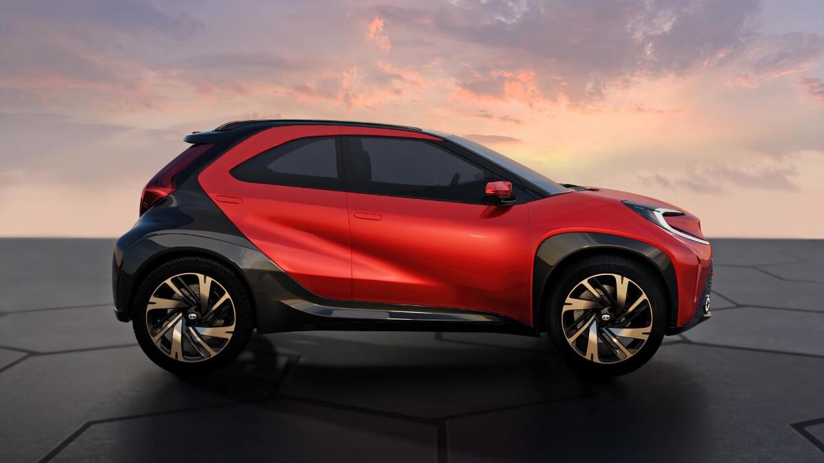 The Toyota Aygo X Profile