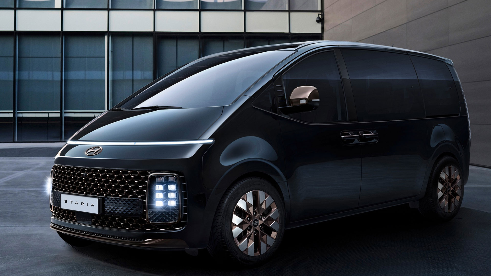 The New Hyundai Staria MPV