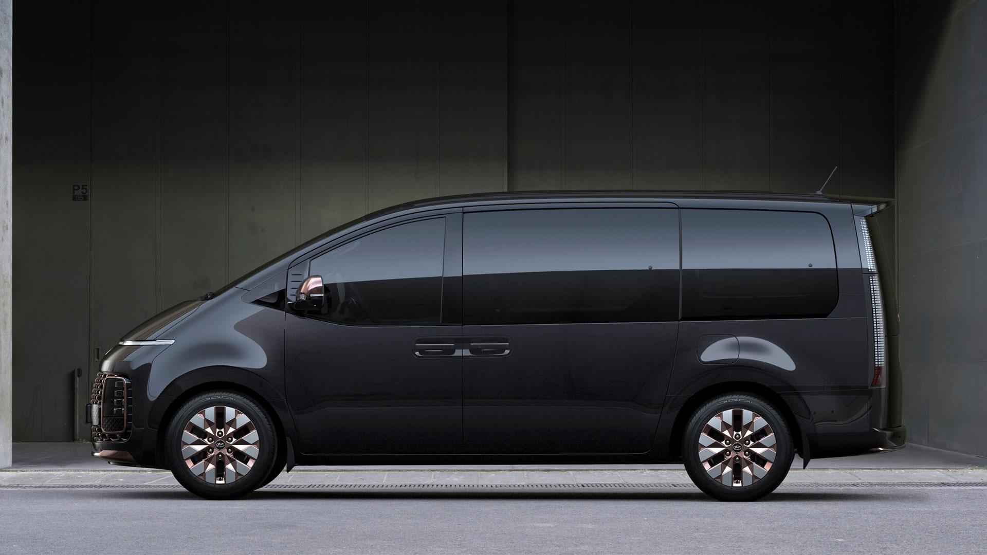 The Hyundai Staria profile