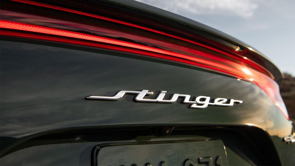 The Kia Stinger Emblem