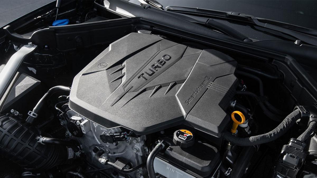 The Kia Stinger Engine