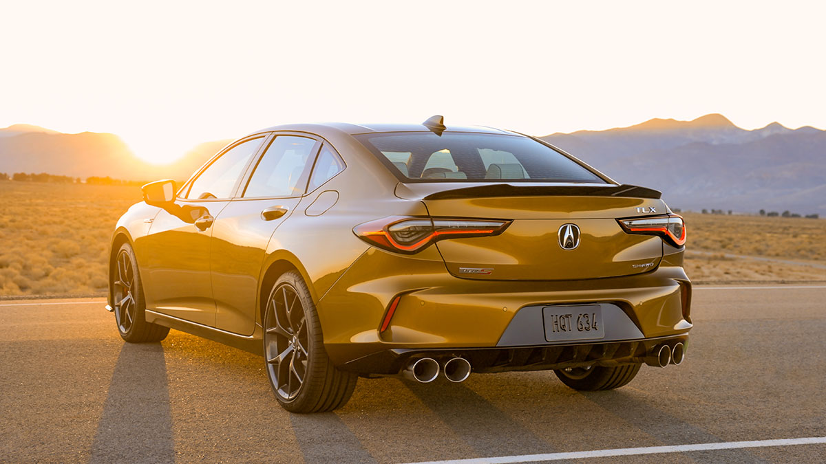The Acura TLX Type S