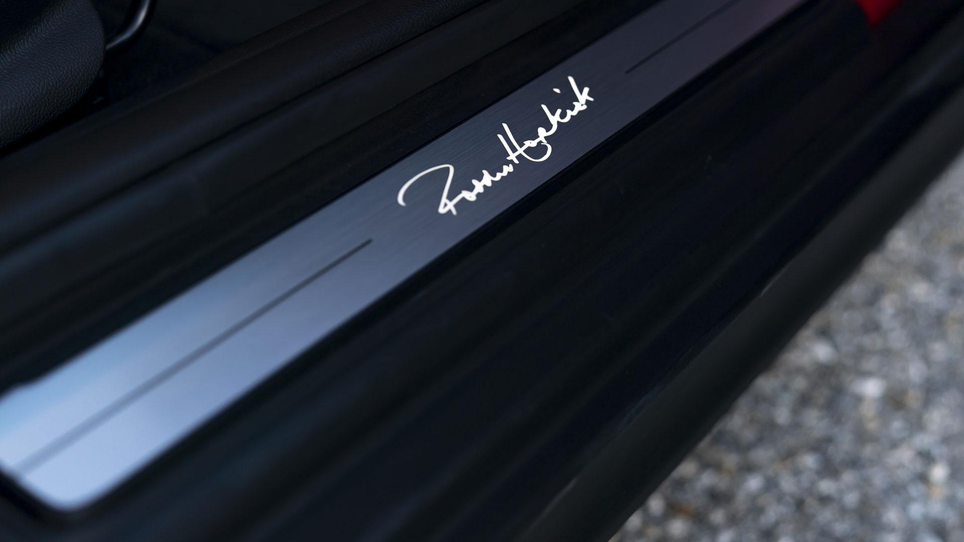 Mini Paddy Hopkirk Edition step board detail