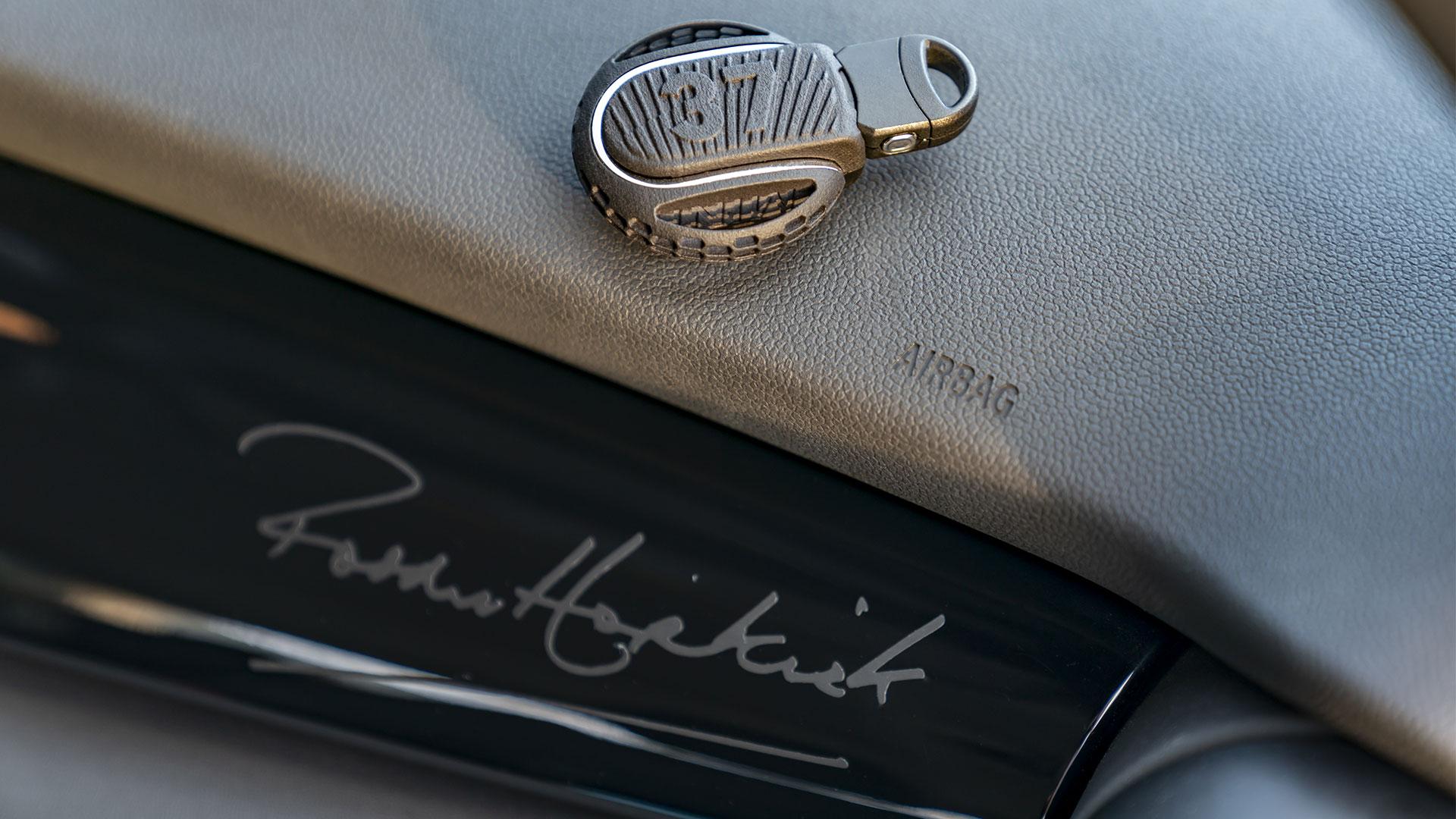 Mini Paddy Hopkirk Edition dashboard closeup