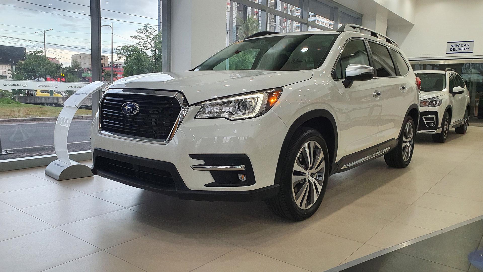 The Subaru Evoltis