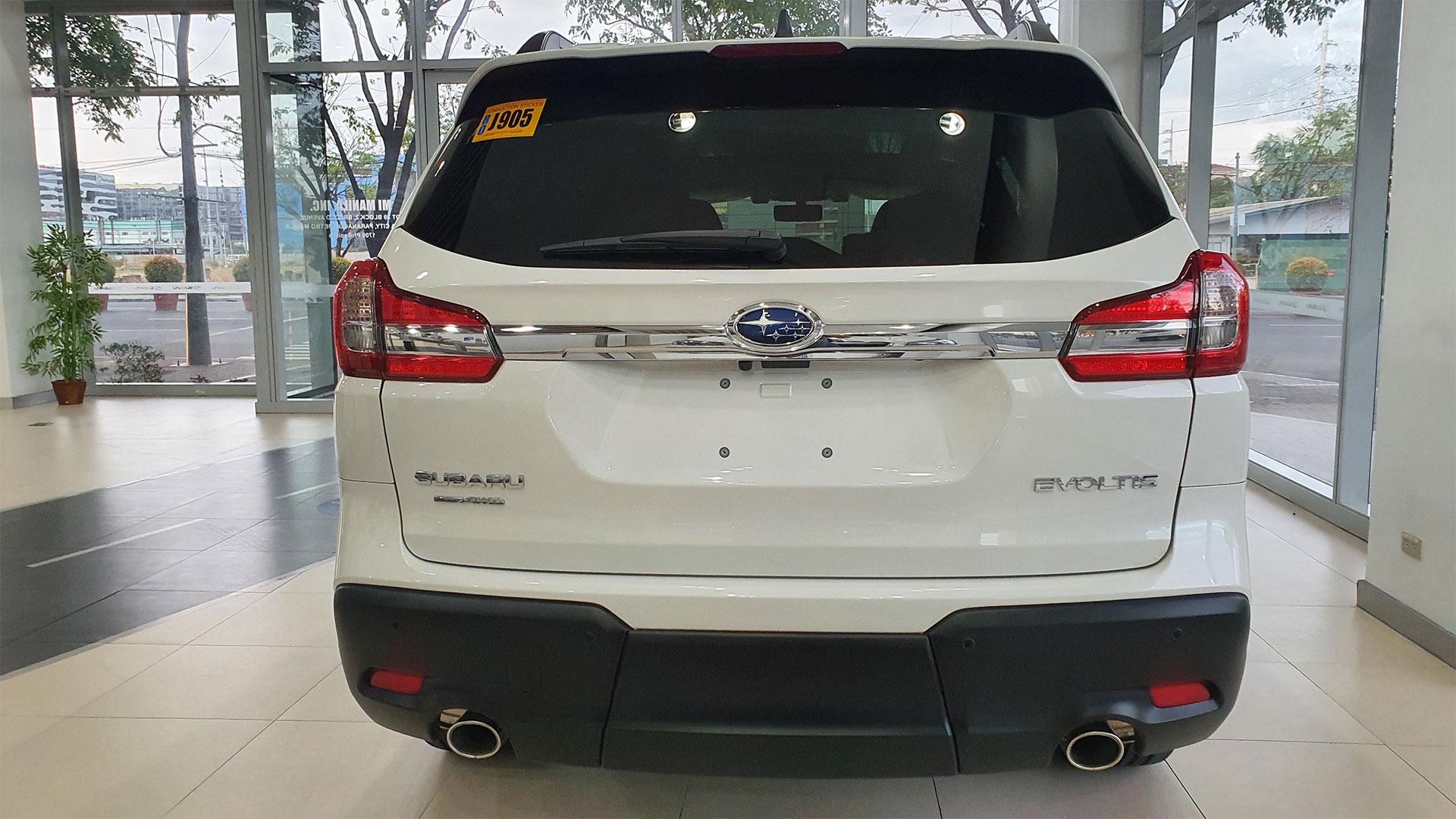 The Subaru Evoltis Rear View