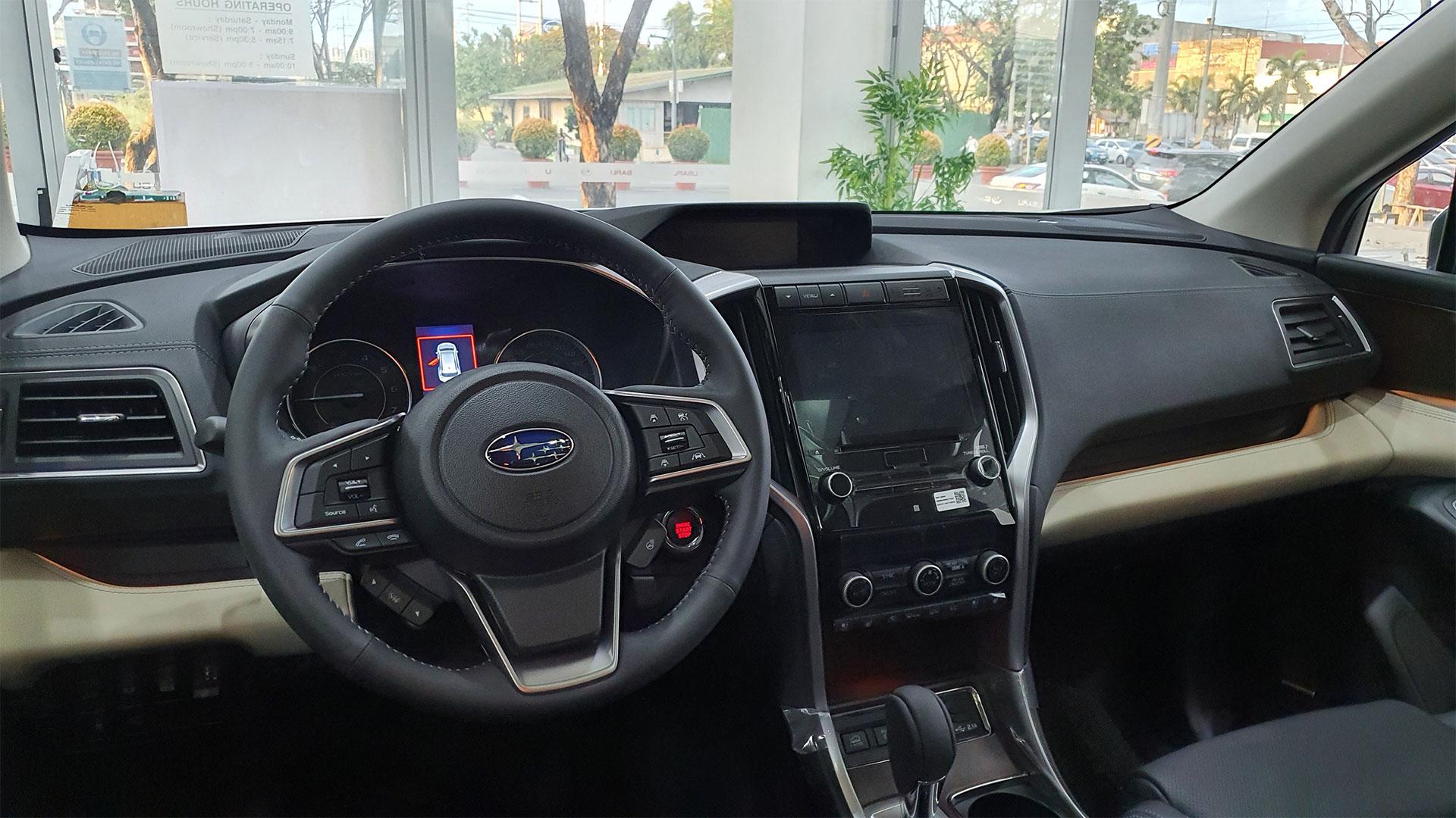 The Subaru Evoltis Dashboard