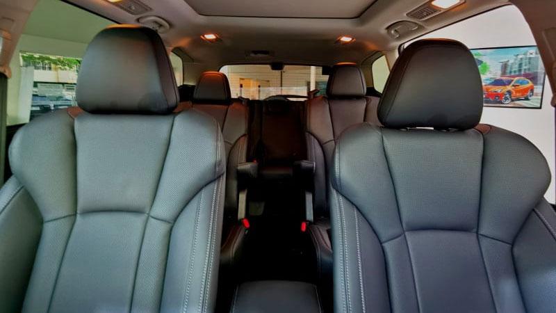 The Subaru Evoltis Interior