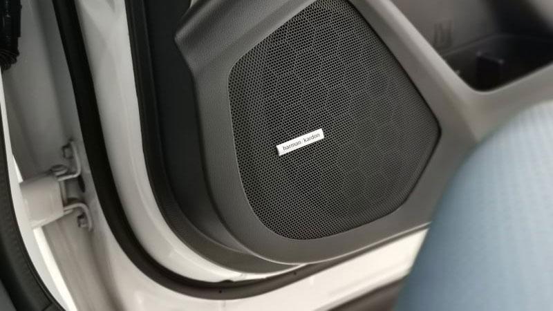 The Subaru Evoltis Door-Mounted Speakers