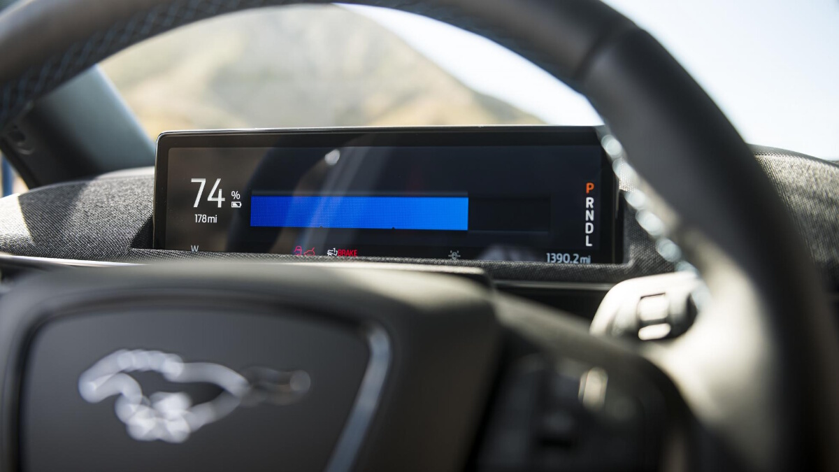 The Ford Mustang Mach-E Digital Odometer