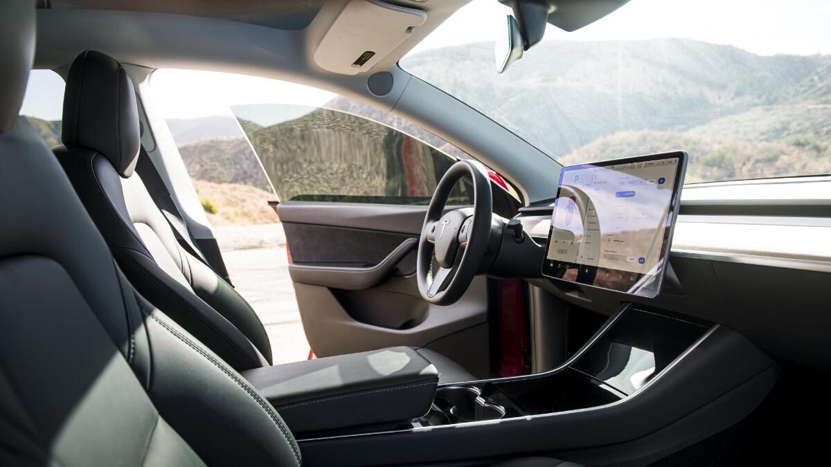 The Tesla Model Y Dashboard