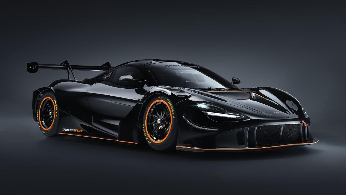 The McLaren 720S GT3X