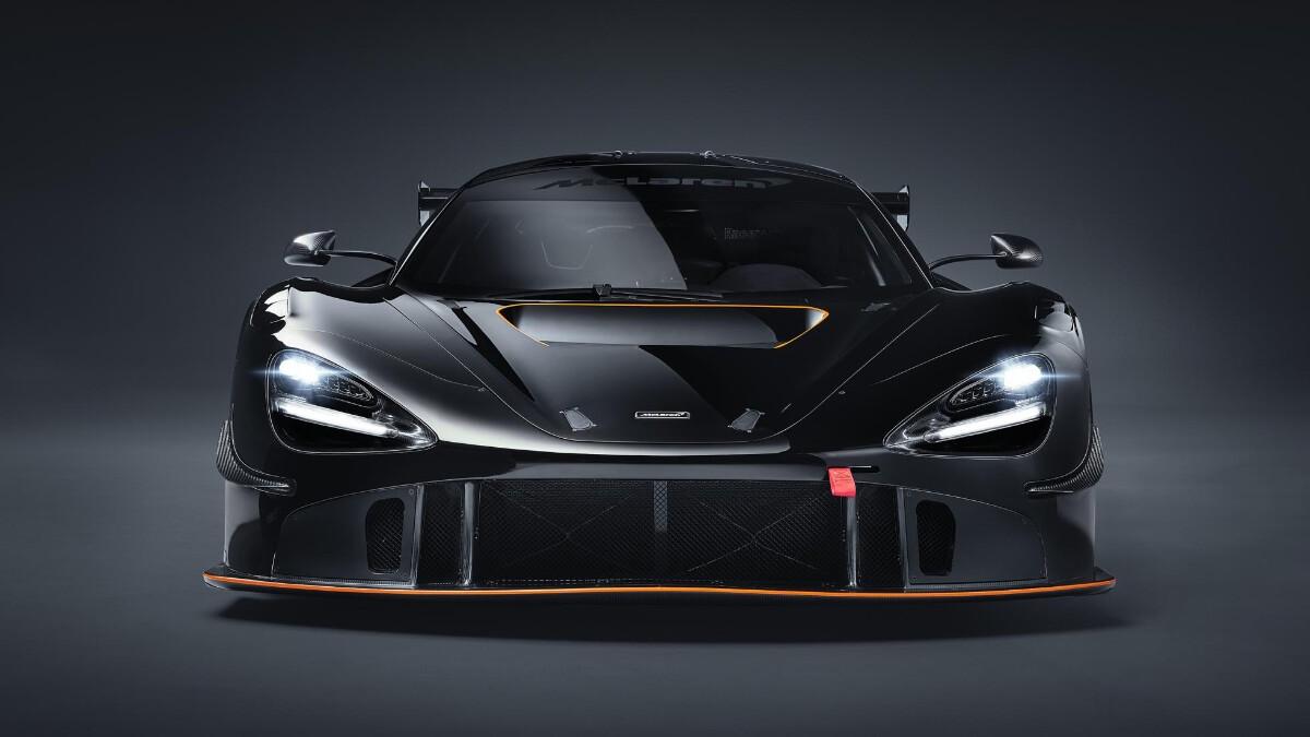 The McLaren 720S GT3X Front View